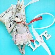 Куклы и игрушки ручной работы. Ярмарка Мастеров - ручная работа Кролики. Handmade.