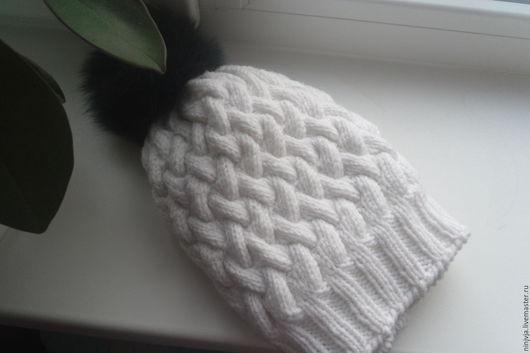 Шапки ручной работы. Ярмарка Мастеров - ручная работа. Купить белоснежка. Handmade. Белый, белая шапка, шапка женская