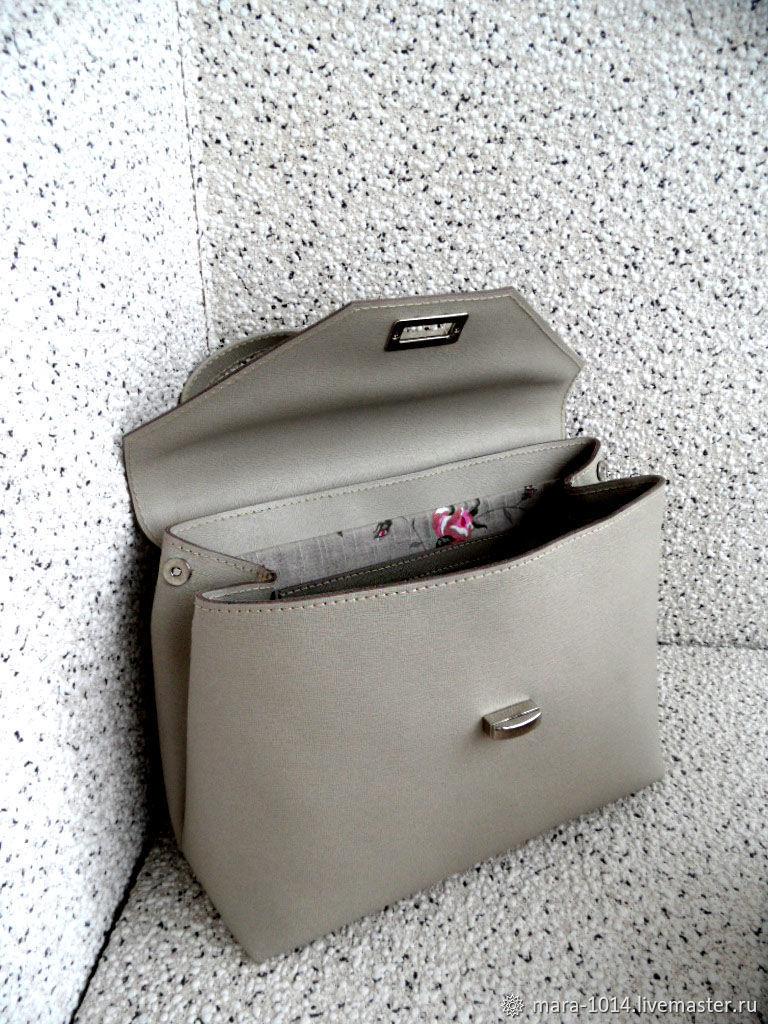 a685aee28ba1 СЛИВКИ (S),сумка из натуральной кожи saffiano,. Женские сумки ручной работы.  Ярмарка Мастеров - ручная работа. Купить ...