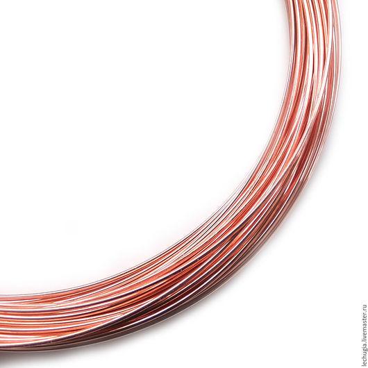 Для украшений ручной работы. Ярмарка Мастеров - ручная работа. Купить Проволока Bead Wire 22 Ga Copper (медная). Handmade.