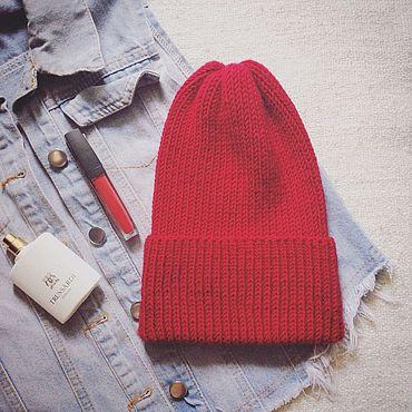 Одежда ручной работы. Ярмарка Мастеров - ручная работа Шапка из мериноса. Handmade.