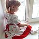 Одежда для девочек, ручной работы. Ярмарка Мастеров - ручная работа. Купить платье Зимняя роза вязаное детское авторское. Handmade.