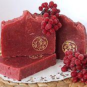 Косметика ручной работы handmade. Livemaster - original item Soap from scratch natural handmade viburnum Red red. Handmade.