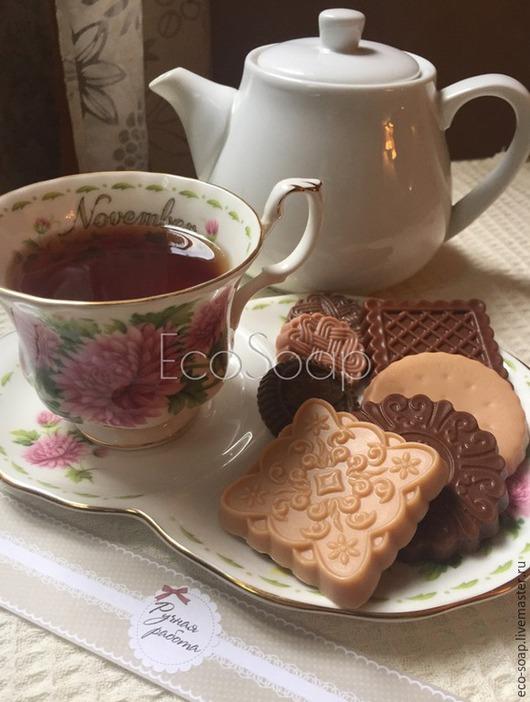 `Печенье` Набор натурального мыла ручной работы.  Handmade.