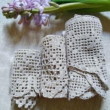 Для дома и интерьера handmade. Livemaster - original item Lace braid set. Handmade.