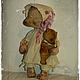 """Мишки Тедди ручной работы. Ярмарка Мастеров - ручная работа. Купить """"Мой плюшевый мишка"""". Handmade. Бежевый, мишка-тедди"""