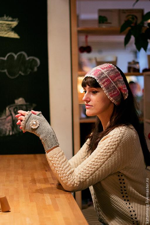 Повязки ручной работы. Ярмарка Мастеров - ручная работа. Купить Повязка для головы вязаная. Handmade. Повязка на голову, бохо-стиль