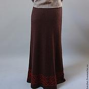 Одежда ручной работы. Ярмарка Мастеров - ручная работа Юбка Яркая Зима. Handmade.