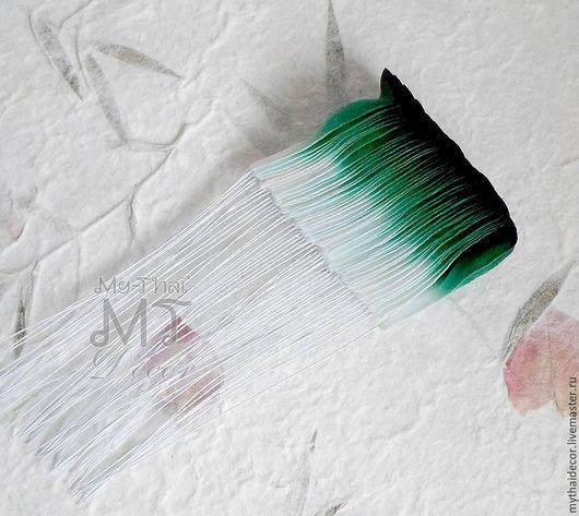 Лепестки бело-зеленые загнутые My Thai Малбери флористика из Таиланда