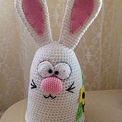 Куклы и игрушки ручной работы. Ярмарка Мастеров - ручная работа Заяц пасхальный. Handmade.
