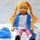 Вальдорфская игрушка ручной работы. Маша, 42 см. svetlana. Ярмарка Мастеров. Игровая кукла, кукла интерьерная, игрушка для детей