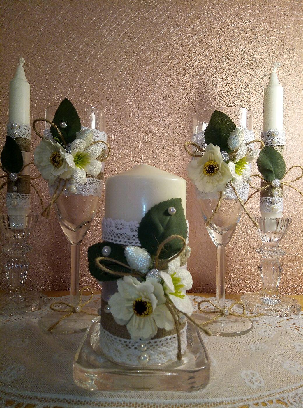 Свадебный набор в стиле рустик, Наборы аксессуаров, Москва, Фото №1