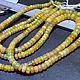 Для украшений ручной работы. Заказать Опал натуральный эфиопский, огненный, рондели - огранка. Натуральные камни Стеклянные бусины (stones-beads). Ярмарка Мастеров.