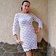 """Платья ручной работы. Ярмарка Мастеров - ручная работа. Купить Платье """"Россыпь жемчуга"""". Handmade. Белый, вязанное свадебное платье"""