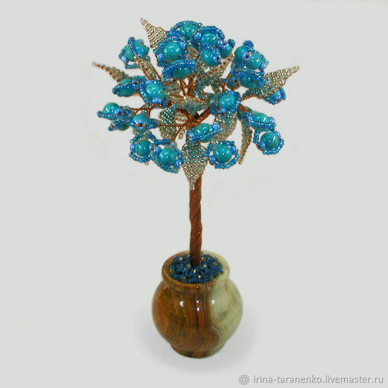Tree with turquoise ' turquoise tenderness`