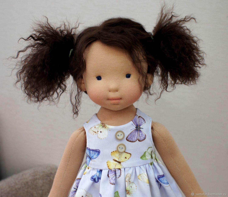 Куколка для Мирьям, 44 см вальдорфская кукла ООАК, Игрушки, Пермь, Фото №1