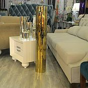 Vases handmade. Livemaster - original item Floor vase, gold color. Handmade.