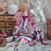 """Куклы и игрушки ручной работы. Ярмарка Мастеров - ручная работа Кукла в стиле Тильда """"Бордовый шик"""". Handmade."""
