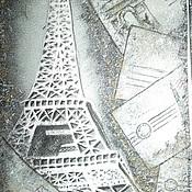 """Аксессуары ручной работы. Ярмарка Мастеров - ручная работа Галстук """"Письма из Парижа"""". Handmade."""