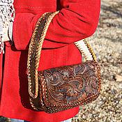 Сумки и аксессуары handmade. Livemaster - original item Leather women`s handbag