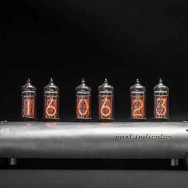 Для дома и интерьера ручной работы. Ярмарка Мастеров - ручная работа Ламповые часы Крыло Миг-15. Handmade.