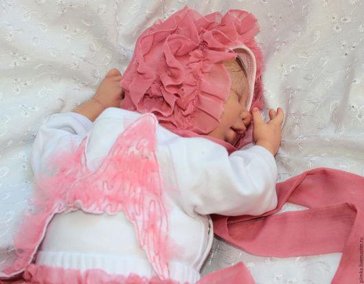 Куклы-младенцы и reborn ручной работы. Ярмарка Мастеров - ручная работа. Купить Кукла реборн, продана. Handmade. Бледно-розовый