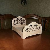Куклы и игрушки handmade. Livemaster - original item Doll crib No. 1476. Handmade.