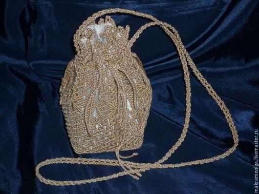 Женские сумки ручной работы. Ярмарка Мастеров - ручная работа. Купить Плетеная женская сумка торба № 2. Handmade.
