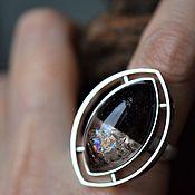 Украшения handmade. Livemaster - original item Ring with polychrome quartz. Handmade.