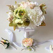 """Свадебный салон ручной работы. Ярмарка Мастеров - ручная работа Букет  для невесты """"Свадьба зимой"""". Handmade."""