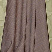 """Одежда ручной работы. Ярмарка Мастеров - ручная работа """"Горячий шоколад"""" юбка лен. Handmade."""