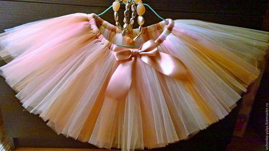 Одежда для девочек, ручной работы. Ярмарка Мастеров - ручная работа. Купить пышная юбка туту для девочки. Handmade. Комбинированный