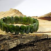 Украшения handmade. Livemaster - original item Bracelet Jadeite(Burma), natural stone. Amulet, talisman. Handmade.