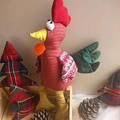 Куклы и игрушки ручной работы. Ярмарка Мастеров - ручная работа Петушок с золотым клювом. Handmade.