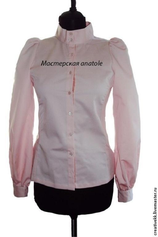 Купить блузки воротником