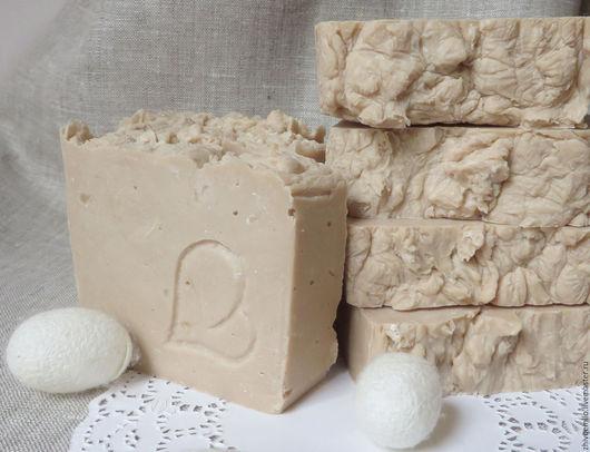 Мыло ручной работы. Ярмарка Мастеров - ручная работа. Купить МОЛОЧНОЕ мыло с маслом КАКАО. Handmade. Молочное мыло купить