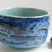 """Посуда ручной работы. Ярмарка Мастеров - ручная работа Тяван """"Океан"""". Handmade."""