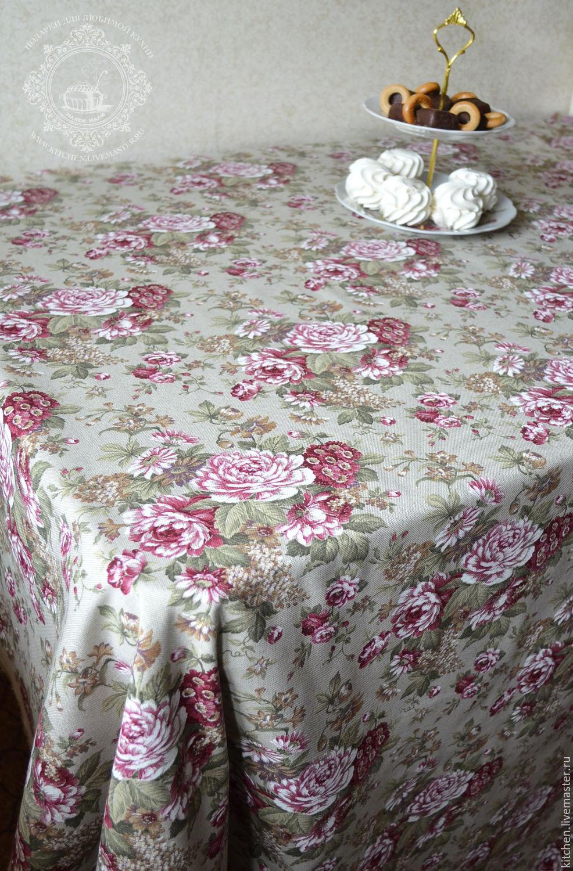 Home Textiles U0026 Carpets Handmade. Livemaster   Handmade. Buy Large  Tablecloth Spanish Rose.