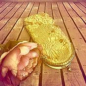 """Сумки и аксессуары handmade. Livemaster - original item Футляр для очков """"Золотой"""" (очечник). Handmade."""