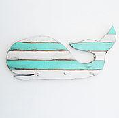 """Для дома и интерьера ручной работы. Ярмарка Мастеров - ручная работа Подвесная вешалка """"Китенок"""". Handmade."""