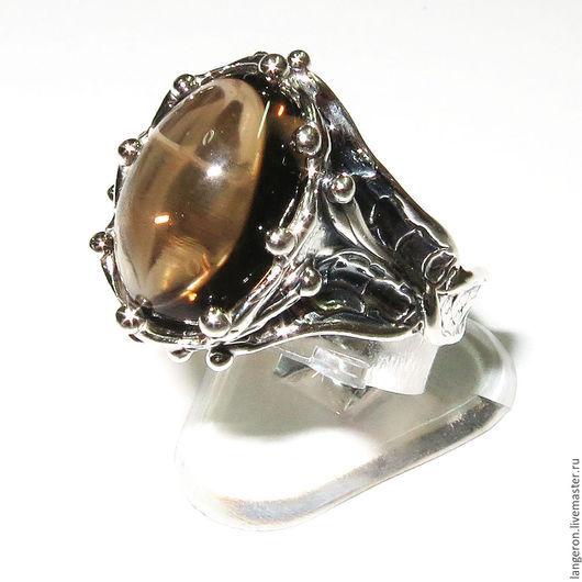 Кольца ручной работы. Ярмарка Мастеров - ручная работа. Купить Серебряное кольцо с золотым халцедоном. Handmade. Кольцо, подарок женщине