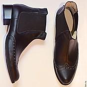 """Обувь ручной работы. Ярмарка Мастеров - ручная работа Мужские ботинки """"Sergio"""". Handmade."""