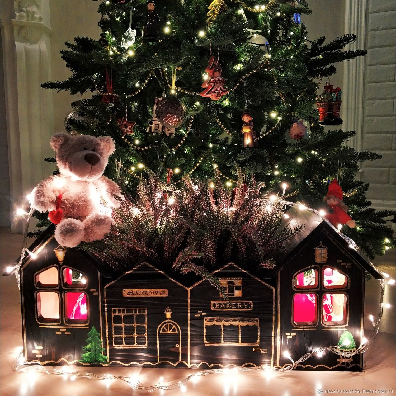 Кашпо Рождество в HappyTown, Подарки, Санкт-Петербург, Фото №1