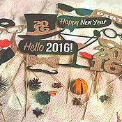 """Подарки к праздникам ручной работы. Ярмарка Мастеров - ручная работа Фотобутафория """"Новый год"""". Handmade."""