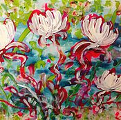 Картины и панно handmade. Livemaster - original item Floral sentiments.. Handmade.