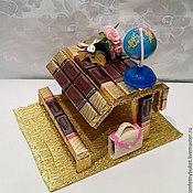 Букеты ручной работы. Ярмарка Мастеров - ручная работа конфетный подарок на 1 сентября и день учителя. Handmade.