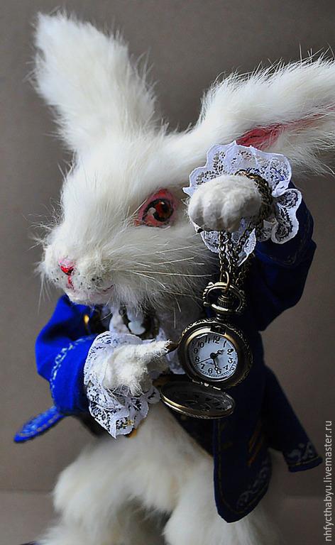 Коллекционные куклы ручной работы. Ярмарка Мастеров - ручная работа. Купить Белый кролик. Handmade. Белый, кукла в подарок, подарок