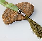 Фен-шуй и эзотерика ручной работы. Ярмарка Мастеров - ручная работа Четки перекидные из камня (CH0016). Handmade.
