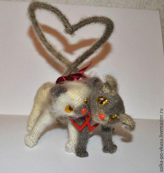 Куклы и игрушки ручной работы. Ярмарка Мастеров - ручная работа. Купить KISSы. Handmade. Комбинированный, подарок влюбленным, Мартовский кот