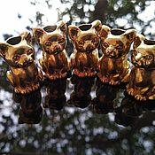 Украшения handmade. Livemaster - original item Handmade brass bead for lanyard or bracelet muska). Handmade.